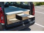Модуль для кемпинга Campwheel 5.0 brown для VW Caddy, Citroen Berlingo, Renault Kangoo, Peugeot Rifter, Opel Combo, Dacia Dokker