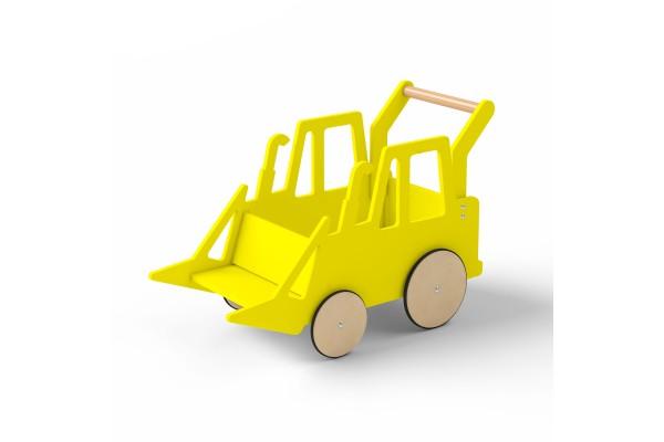 Детский трактор Harvy желтый