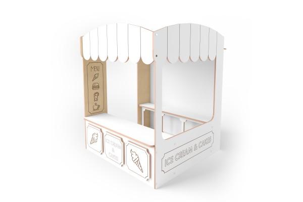 Игровой домик Cafe белый