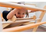 Детский спортивный комплекс Треугольник Пиклер и Горка оранжевая