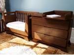 Кроватка Nova Premium венге