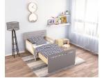 Кровать Colors серый