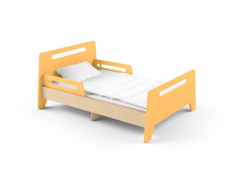 Детская раздвижная кровать Slide Orange