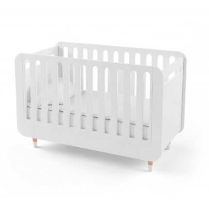 Кроватка-трансформер для новорожденного Bubble Kit белая
