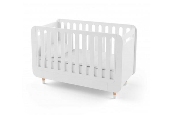 Кроватка для новорожденного Bubble Kit белая