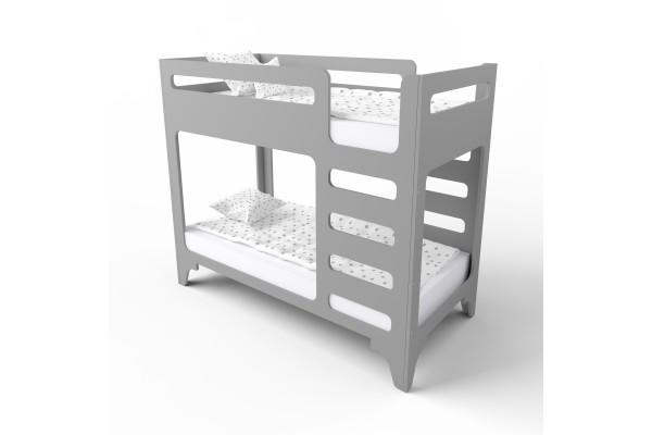 Кровать двухъярусная cuBED серая