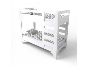 Кровать двухъярусная cuBED белая