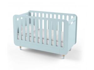 Кроватка-трансформер для новорожденного Bubble Kit голубая