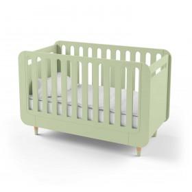 Кроватка-трансформер для новорожденного Bubble Kit зеленая
