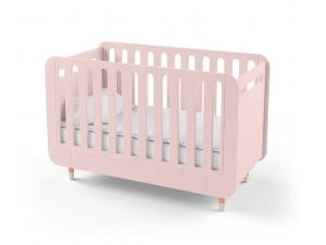 Кроватка-трансформер для новорожденного Bubble Kit розовая