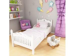 Кровать leChik белая