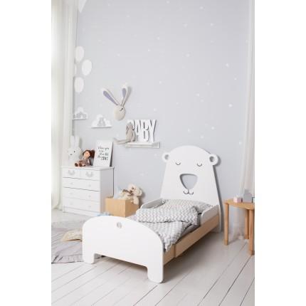 Детская раздвижная кровать Slide Ice Bear