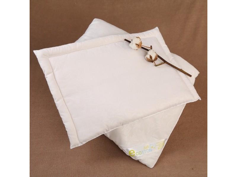 Подушка детская хлопковая, плоская