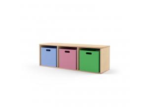 Ящик для хранения цветной