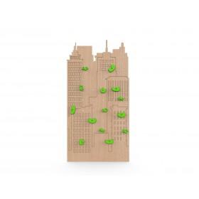 Детский скалодром New York натуральное дерево