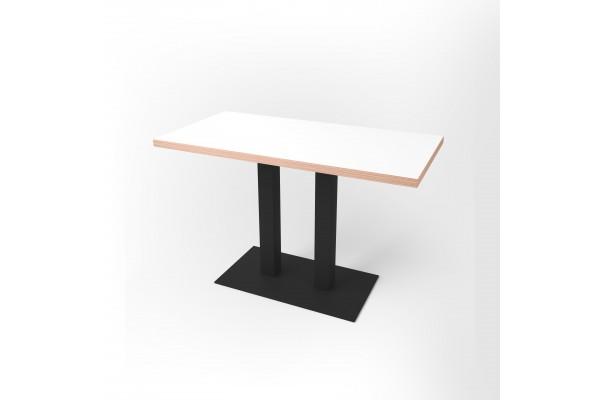 Стол прямоугольный 120 х 60 х 3,6 см, высота 72 см, арт.1070-black