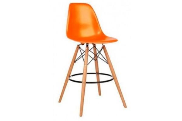 Стул барный Tower Wood оранжевый