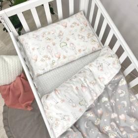 Сменный комплект в детскую кроватку Куклы