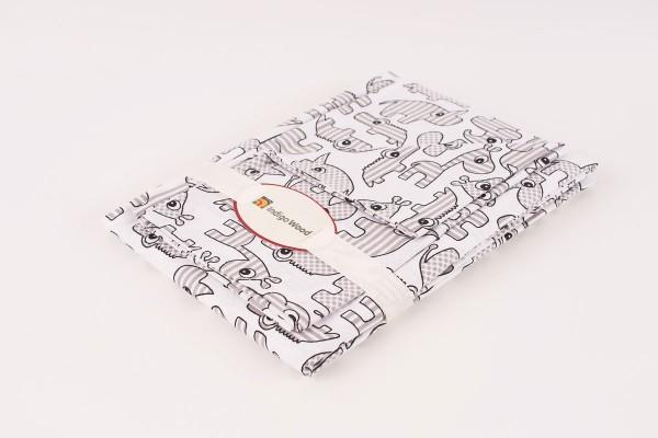Комплект постельного белья для новорожденных Zoo