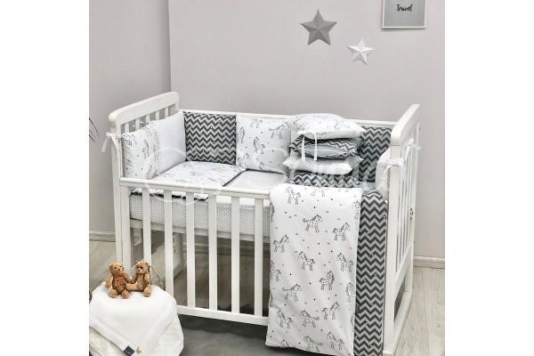 Комплект в детскую кроватку Unicorn