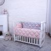 Комплект в детскую кроватку Stich (розовый)