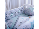Комплект в детскую кроватку Stich (салатовый)