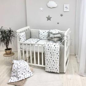 Комплект в детскую кроватку Stars Beige