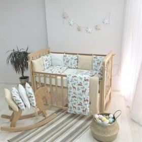 Комплект в детскую кроватку Baby Design (олени)