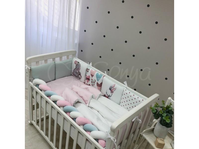Комплект в детскую кроватку Bunnies