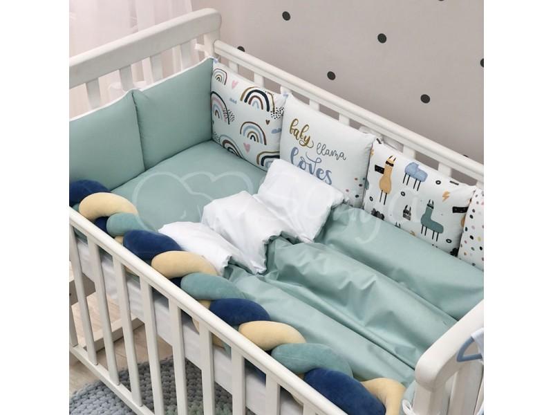 Комплект в детскую кроватку Llamas