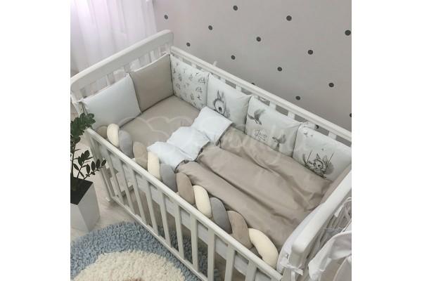Комплект в детскую кроватку Majestic