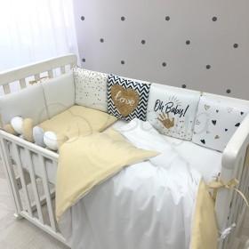 Комплект в детскую кроватку Oh Baby