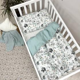 Сменный комплект в детскую кроватку Bamby с друзьями