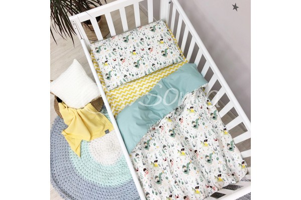 Сменный комплект в детскую кроватку Рыцари