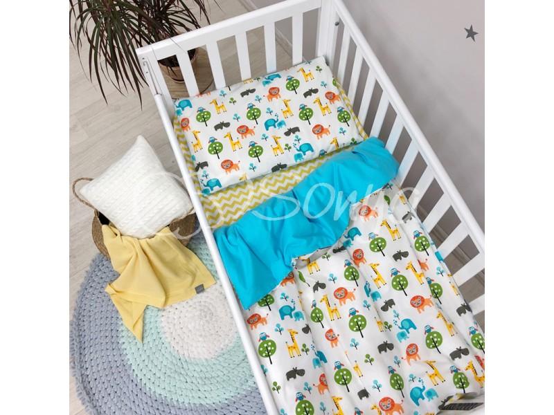Сменный комплект в детскую кроватку Сафари