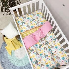 Сменный комплект в детскую кроватку Совы
