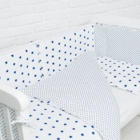 Комплект в детскую кроватку Cool&Stars blue
