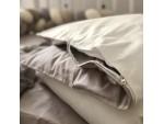 Сменный комплект постельного белья подростковый беж/молоко