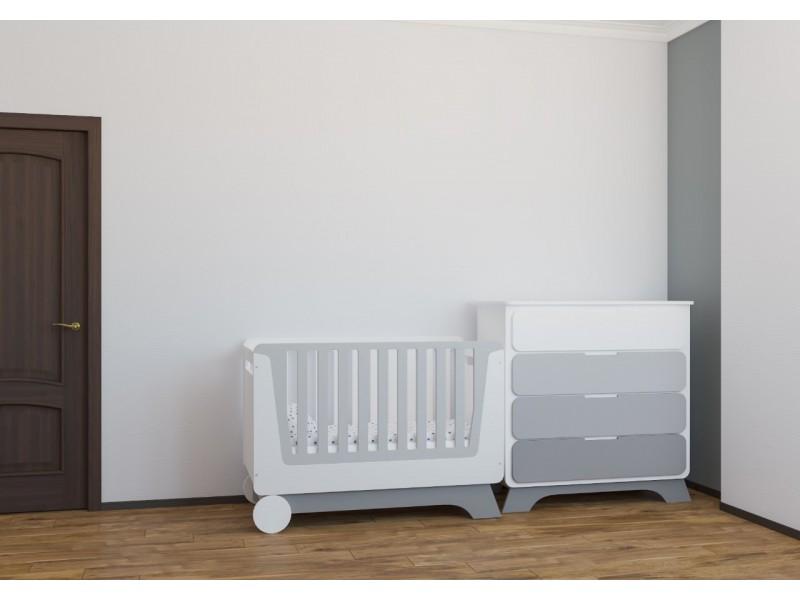 Комплект Nova KIT белый/серый