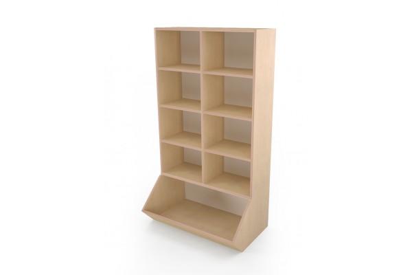 Шкаф Ковш 900 открытыми полочками