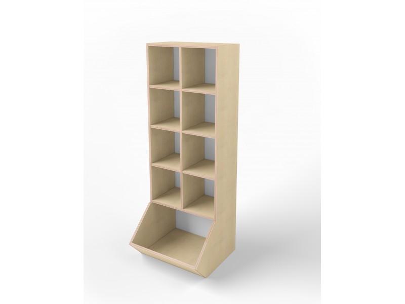 Шкаф Ковш 600 (с открытыми полочками)