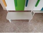 Шкаф для раздевалки с дверками 3 секции белый