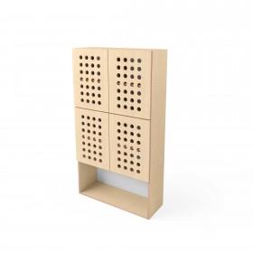 Шкаф Simple big (с закрытыми полочками)