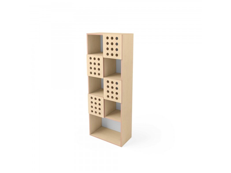 Шкаф Simple small (с закрытыми полочками)