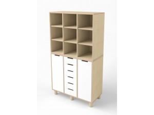 Шкаф для хранения с ящиками