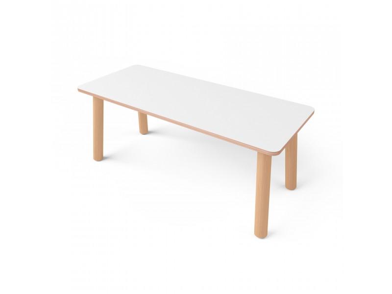 Стол прямоугольный с покрытием hpl-пластика