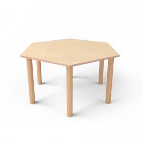 Стол шестиугольный