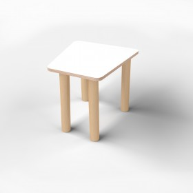 Стол трапеция малый с покрытием hpl-пластика