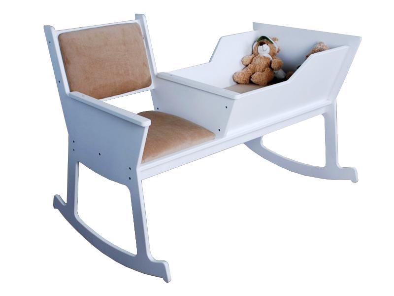 Кровать - колыбель белая