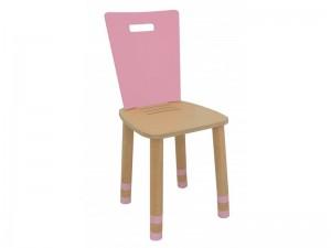 Стул детский регулируемый Simple розовый